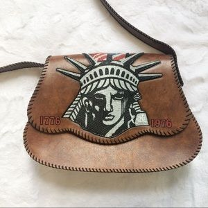 Statue of Liberty Bicentennial Leather Purse